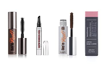 benefit cosmetics bag set mini package they are real mascara tinted lash primer browvo conditioning primer
