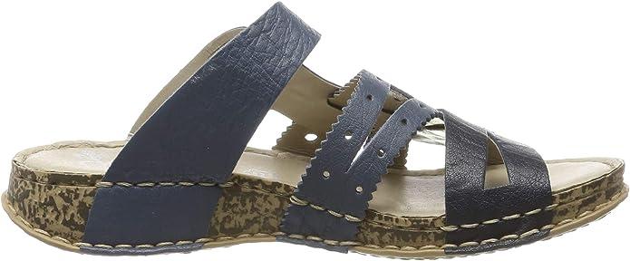 Rieker Damen 61185 12 Pantoletten: : Schuhe 8KNP1