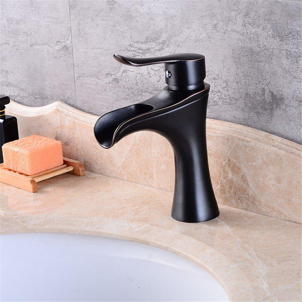 NewBorn Faucet Küche Oder Badezimmer Waschbecken Mischbatterie Retro-Copper Leitungswasser Heben, Einloch Mischen Hand Washa