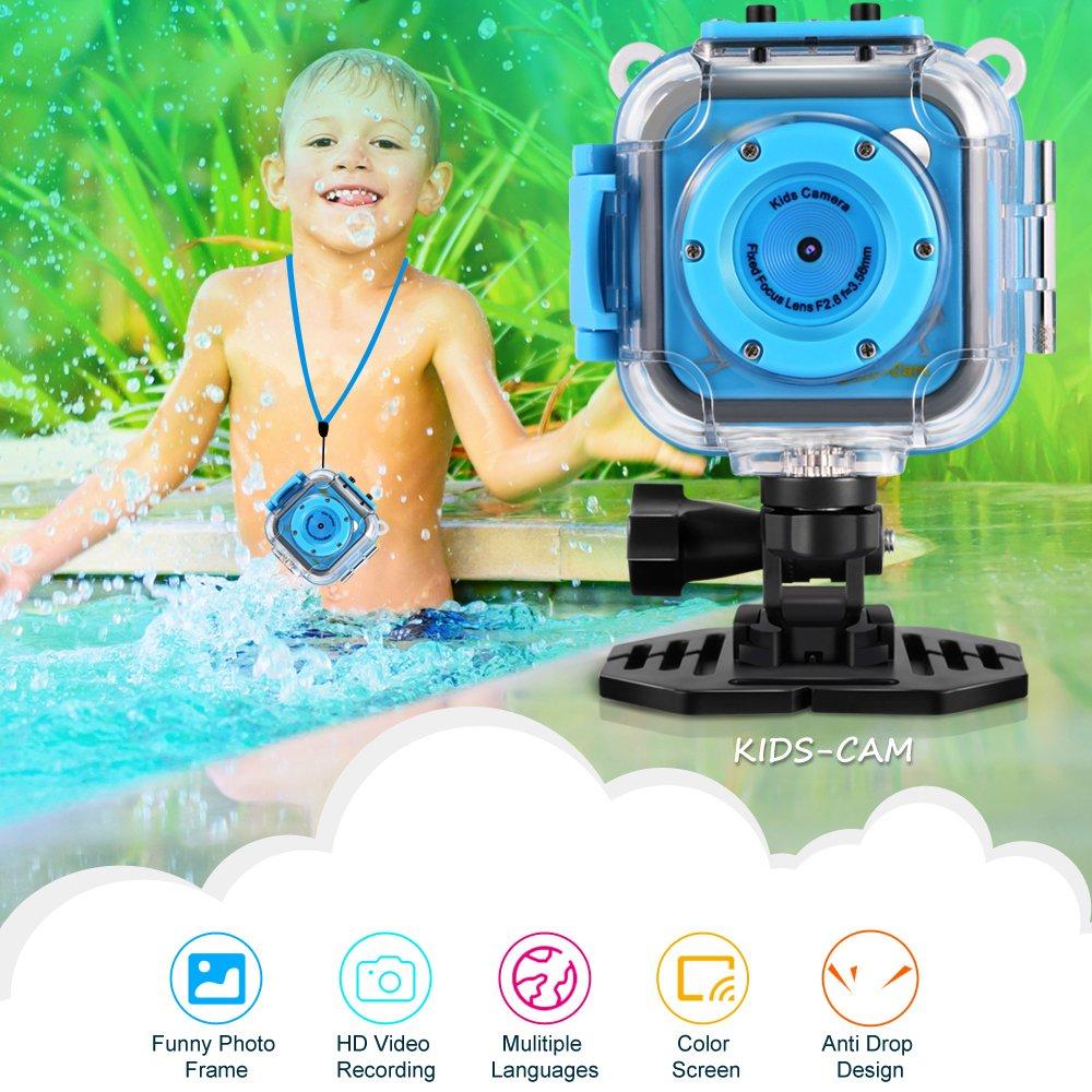 GAKOV GACD WiFi 1080P 2MP Underwater Kids Camera 20m Waterproof Sports Camera for Kids by GAKOV (Image #11)