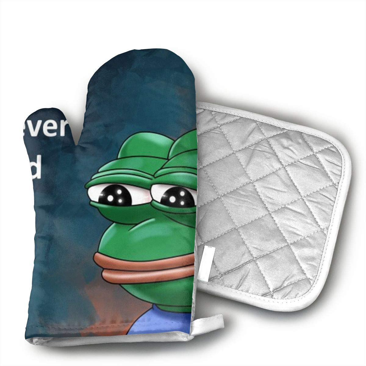 Amazon.com: Niwaww FeelsBadMan Humor Memes Oven Mitts ...