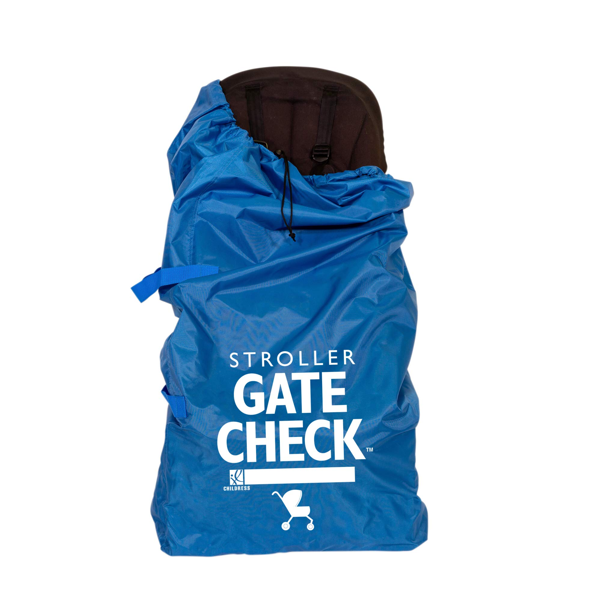 JL Childress Gate Check Bag for Std/Double Strollers, Blue