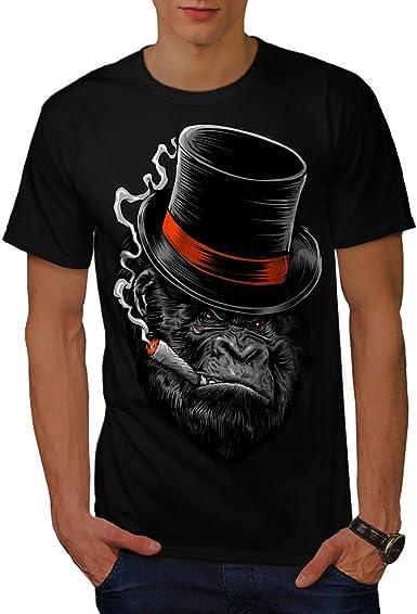 Wild Graphic Design Printed Tee Wellcoda Monkey Ape Prison Mens T-shirt