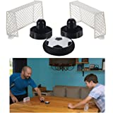 Alta Air Soccer Tabletop Sports Game Toy with Nets and Soccer Style Hockey Puck