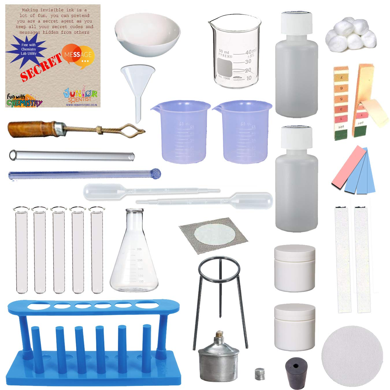IDEA AND INNOVATION INCORPORATION Chemistry Lab Utility - II for Kids (Multicolour) product image