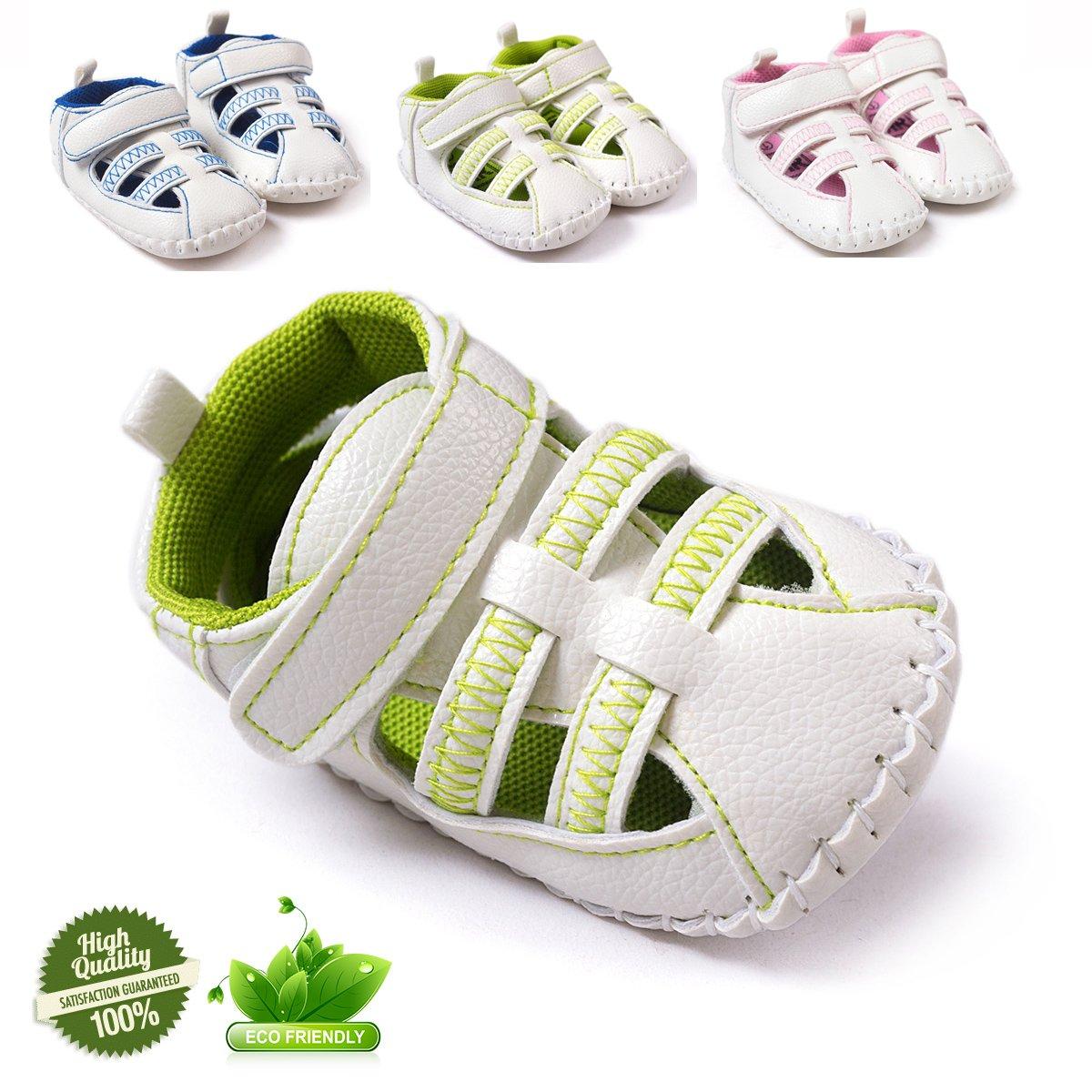 Zapatos de Bebé, Morbuy Unisexo Zapatos Bebe Primeros Pasos Recién Nacido 0-18 Mes Bebé Casual Zapatos Suela Zapatillas Antideslizante Sandalias (11cm / 0-6meses, Azul)