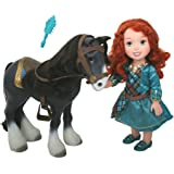 My First Disney Princess Brave Merida With Angus Playset