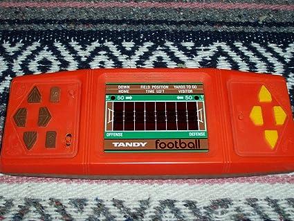 Amazon Com Vintage Tandy Head To Head Football Handheld Mini