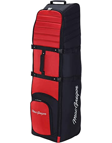 c5a5b4208502 MacGregor VIP II Deluxe Wheeled Golf Travel Cover with Padding and  Protection