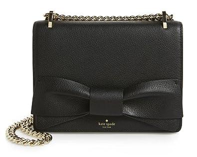 02eca138a Amazon.com: Kate Spade New York Olive Drive Marci Small Shoulder Bag  (Black): Shoes
