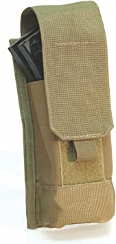 38CL03AU Holds 4 Mags BLACKHAWK STRIKE Double Magazine Pouch w//Speed Clips