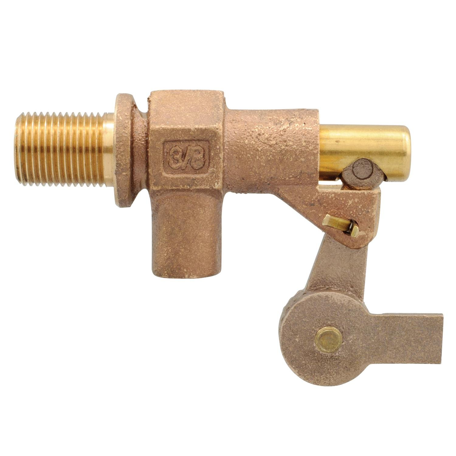 Watts 3/8 375-12 3/8'' Bronze Heavy Duty Float Valve with Locknut by Watts