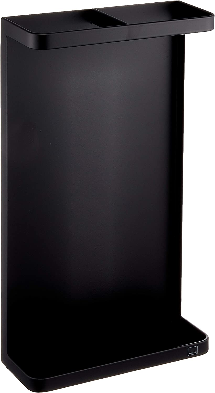 Yamazaki Home Magnet Umbrella Stand-Modern Organizer Rack Holder, One Size, Black