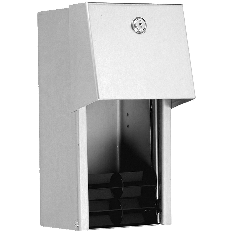 Brushed Satin Tubular Specialties Manufacturing TSM 310 Multi-Roll Toilet Tissue Dispenser Surface Mounted TSM CECOMINOD094698