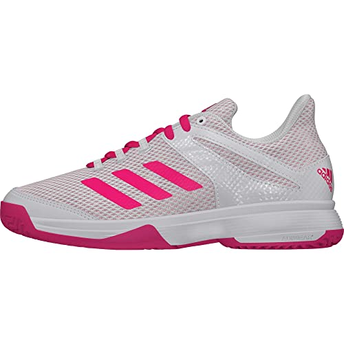 f1f5d96dc7ebd1 adidas Unisex Kids  Adizero Club K Tennis Shoes  Amazon.co.uk  Shoes   Bags