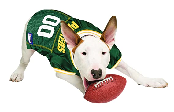 Amazon.com : Pets First NFL Green Bay Packers Jersey, X-Small : Sports Fan Pet T Shirts : Pet Supplies