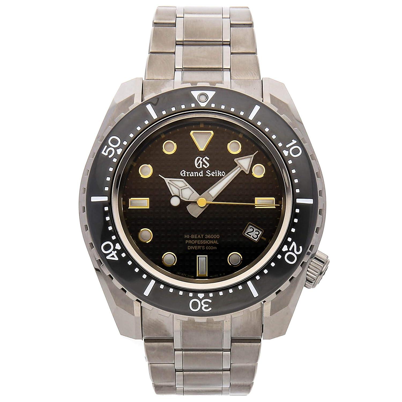 quality design 9e910 f4fb2 Amazon.co.jp: Grand Seiko Watch hi-beat 36000 Diver sbgh255 ...