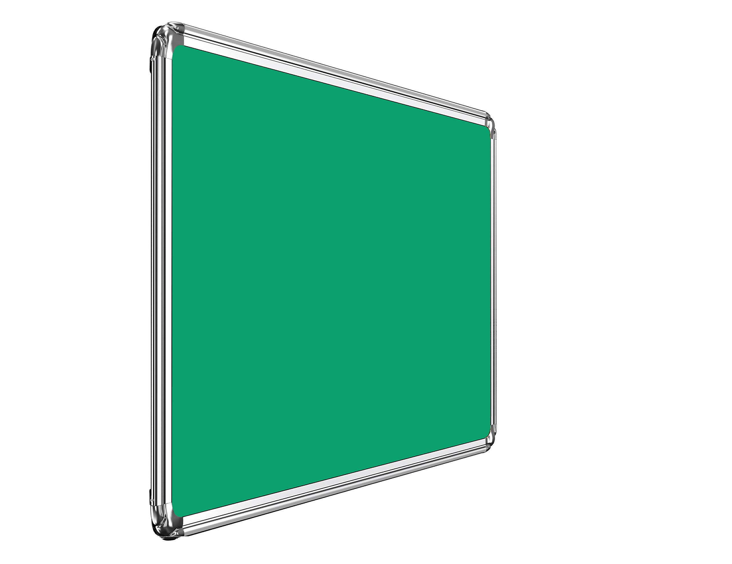 Nechams Pin-up Board (Notice Board) Prima Series for Home, Office and School, Heavy-Duty Aluminium Frame (Green, 1.5ft x 2ft) (B07M82SPMW) Amazon Price History, Amazon Price Tracker
