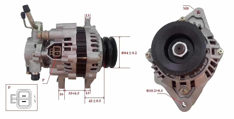 Nueva Alternadores 12V 90AMP M8 2.5TD MD320354 LRA01533 0986042291 TG08014