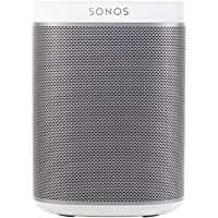 Sonos Original Play:1 - Compact Wireless Speaker for streaming music. Compatible with Alexa devices for voice control. (White)
