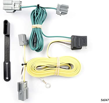 Amazon.com: CURT 56047 Vehicle-Side Custom 4-Pin Trailer Wiring Harness,  Select Buick Lucerne, Ford Fiesta Sedan: AutomotiveAmazon.com