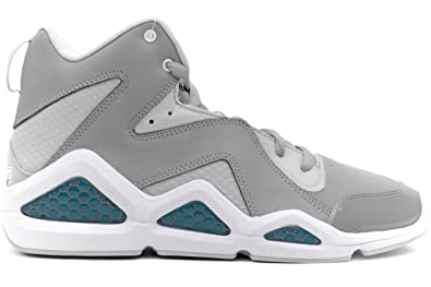 801014836a8 Reebok - Kamikaze Iii Mid Nc Mens Shoes In Carbon Steel White Blue