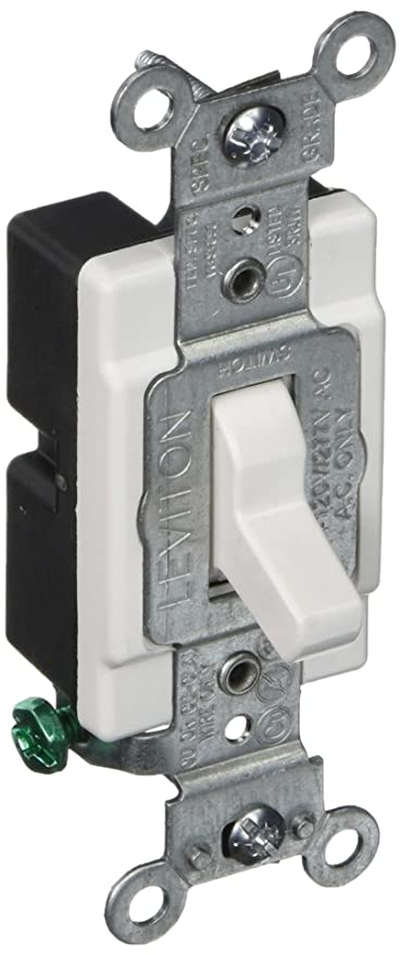 Lighted Quiet Single Pole Switch - Wall Light Switches - Amazon.com