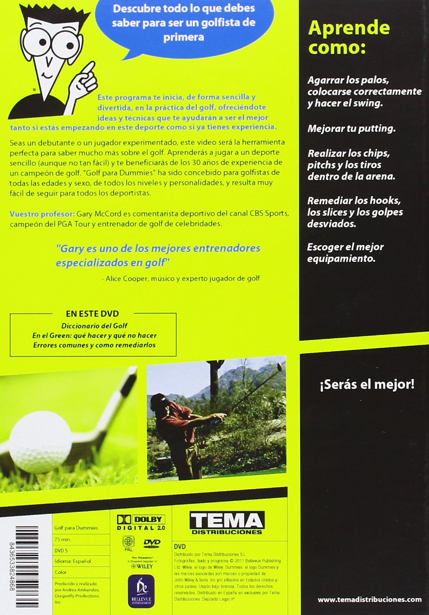 Amazon.com: Golf Para Dummies (Import Movie) (European ...