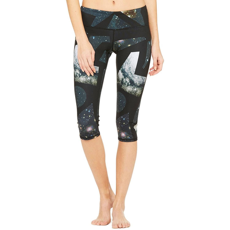Alo Yoga - Leggings Capri para Mujer - Gris - Large: Amazon ...