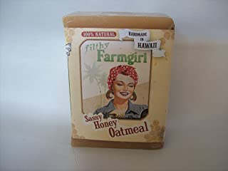 product image for Sassy Honey Oatmeal all natural glycerin BAR SOAP Cinnamon Oats Vanilla