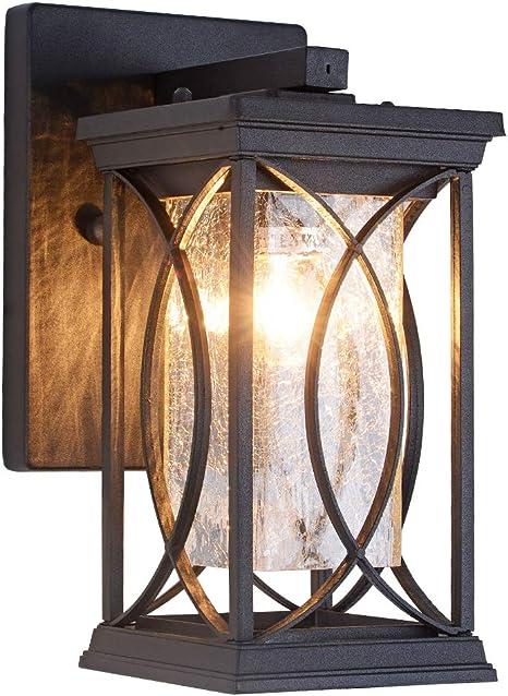 128766 Ip44 Outdoor Rust Aluminium 14W Cfl Lantern