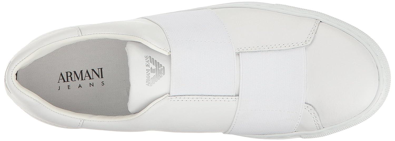 Armani Jeans Sneaker da Uomo con Cinghie Elastiche fd6c19a9204