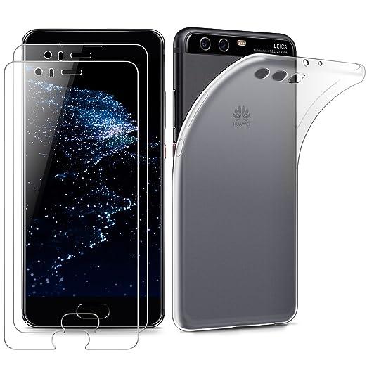 51 opinioni per 2 Pezzi Vetro Temperato Huawei P10 plus,Wellead [Japan AGC Glass] Pellicola