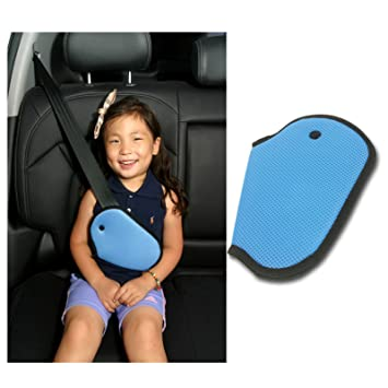 car child safety cover harness repositions strap adjuster mash pad kids seat belt seatbelt clip booster