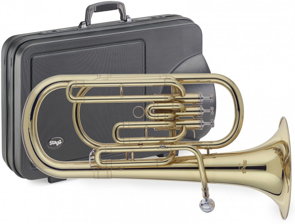 Stagg WS - BH235 Bb Baritone with Case WS-BH235