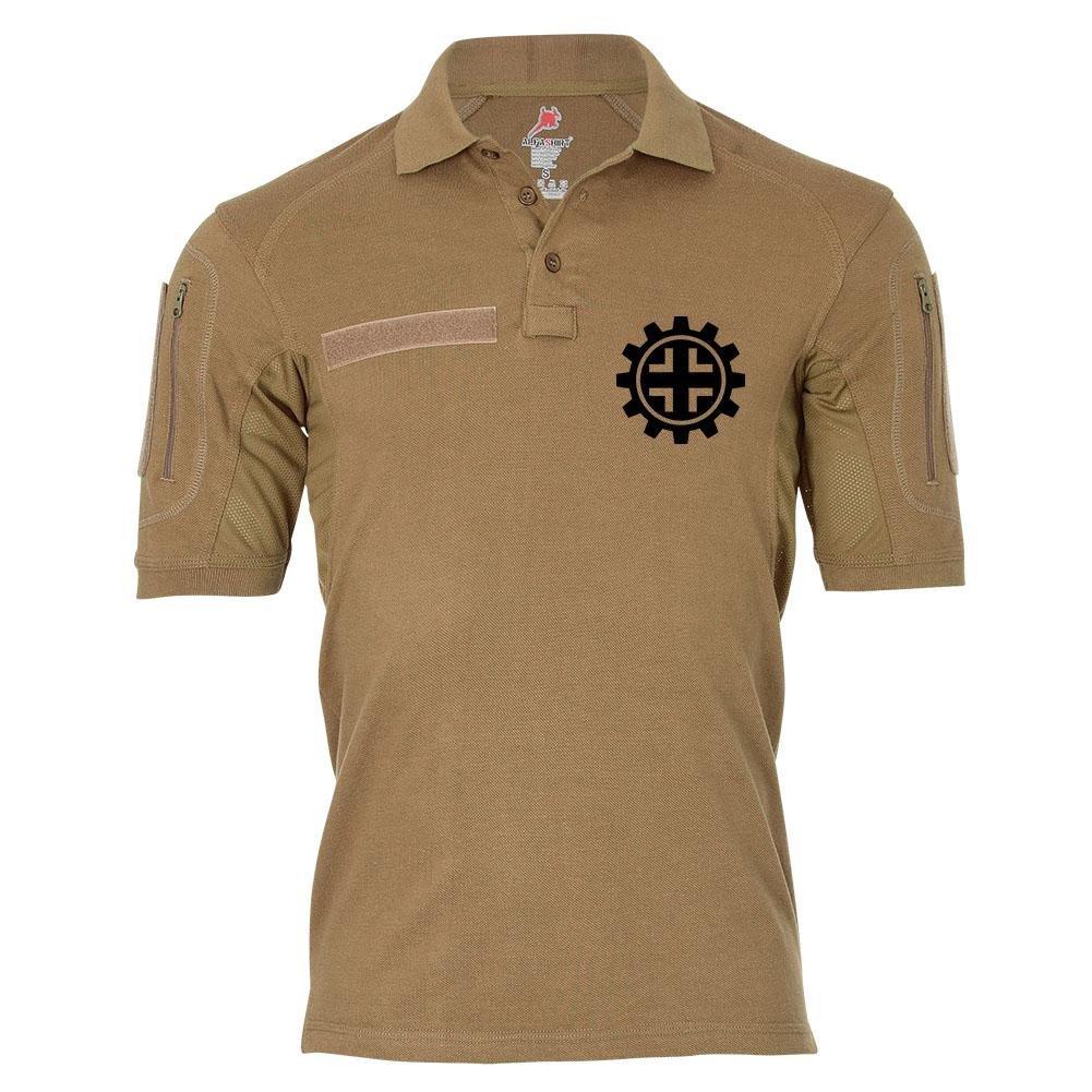 Tactical Poloshirt Alfa - Balkenkreuz schwarzes Kreuz Hoheitszeichen BW Deutschland  19329