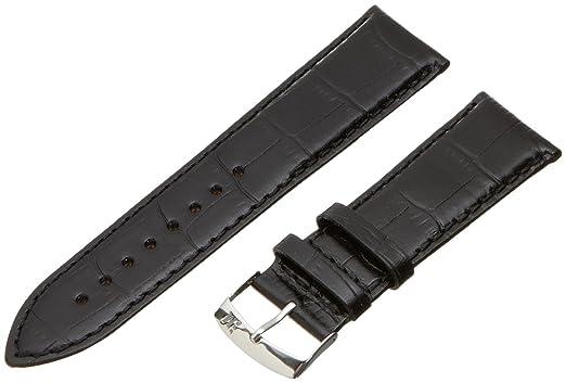 2 opinioni per Morellato cinturino in pelle uomo , nero , 24 mm, A01X3395656019CR24