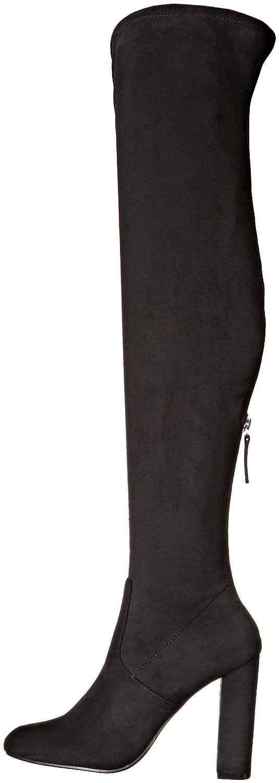 Steve Madden Women's Emotions Over The Knee Boot B01DK7RZ9I 7 B(M) US|Black
