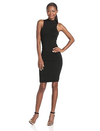 b434d7c8b3 Amazon.com  LRK Women s Sleeveless Turtleneck Dress