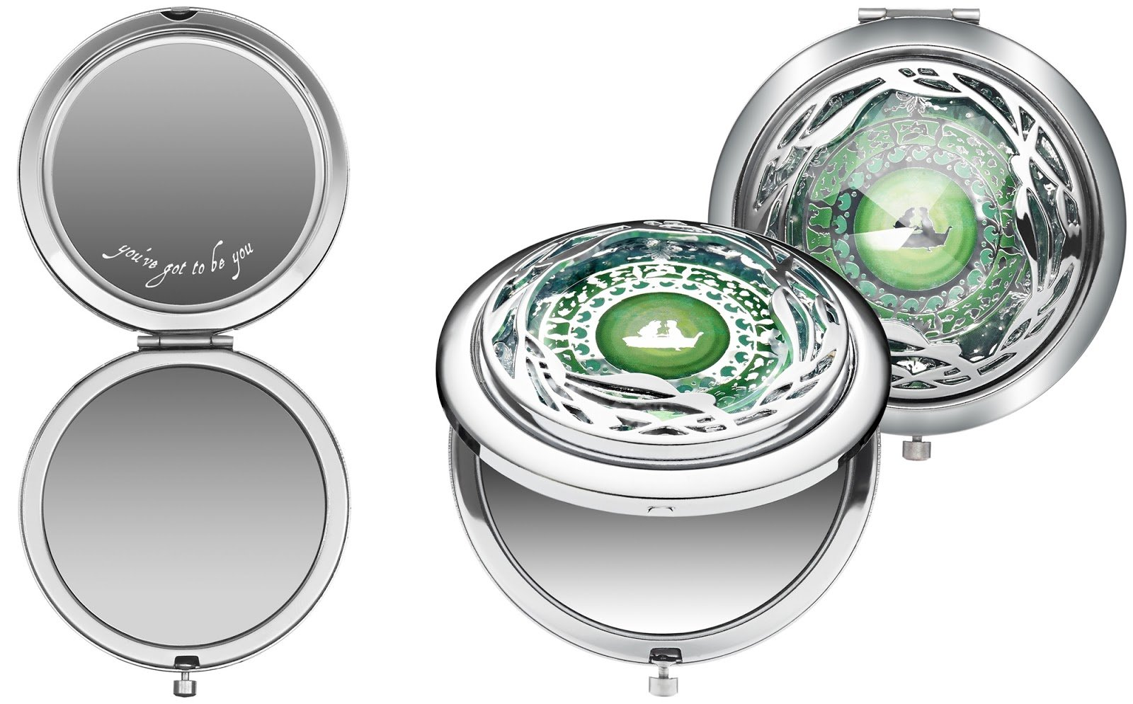 Disney by Sephora Ariel Set the Mood Compact Mirror by Disney by Sephora