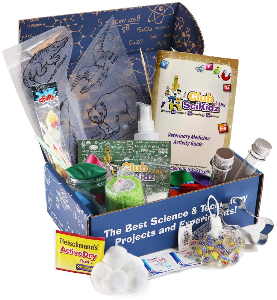 STEM Box Veterinary Science Kit by Club SciKidz
