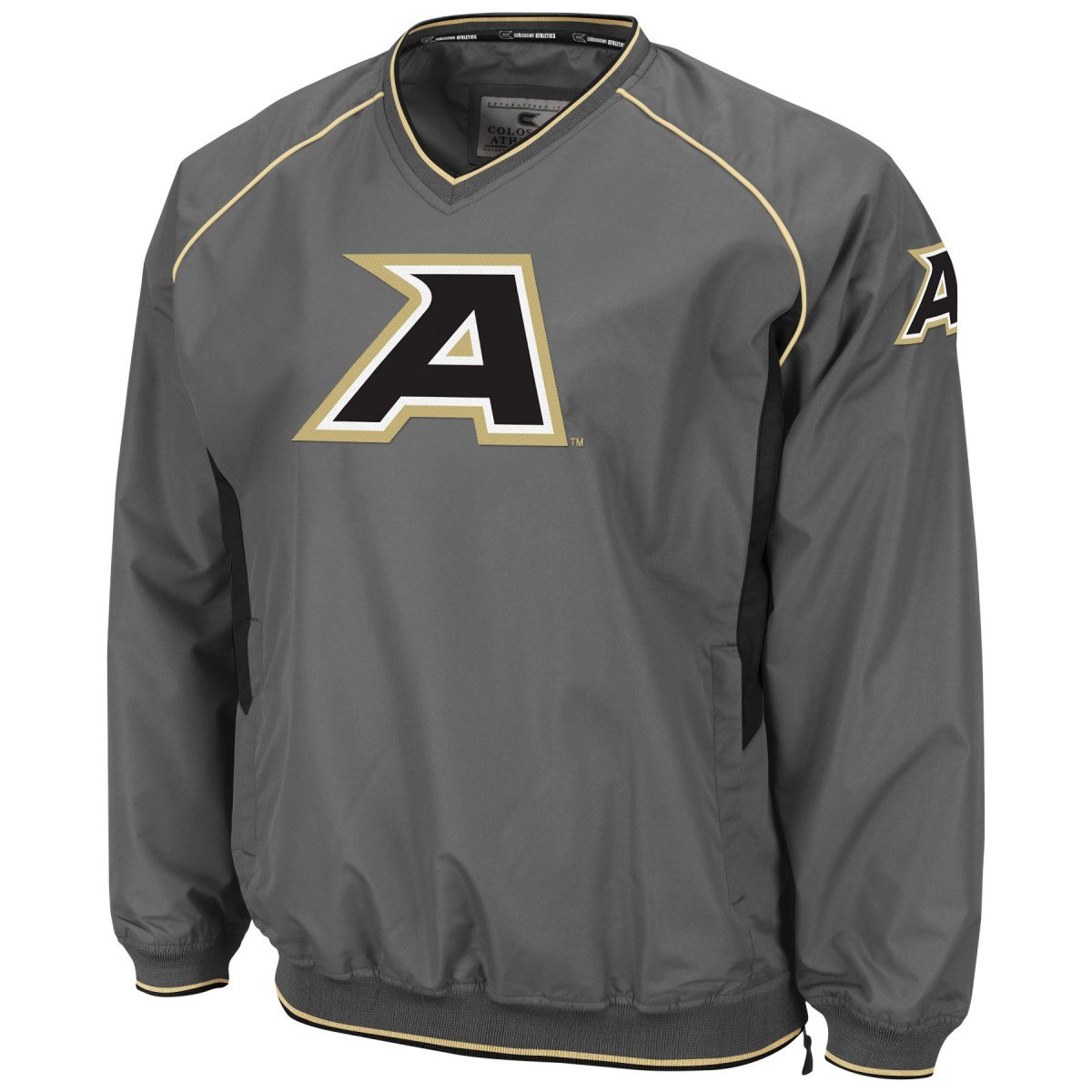 Army Black Knights NCAA 2014 Pitch Pullover Jacket Giacca - Charcoal Colosseum