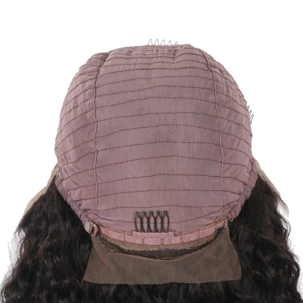 Top 8A Full Lace Human Hair Wigs For Black Women 130% Density Brazilian Loose Wave Curly Front Lace Wigs Lace Front Human Hair Wigs Baby Hair