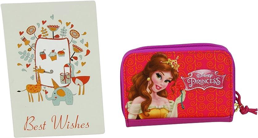 Disney Princess Prinzessin GELDB/ÖRSE Geldbeutel PORTEMONEE