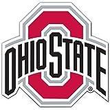 "NCAA Ohio State Buckeyes Unisex NCAA 12"" Vinyl Magnet, Red, One Size"
