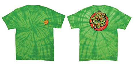 b84a91ef Santa Cruz Shirt Teenage Mutant Ninja Turtles Turtle Power Lime Size S