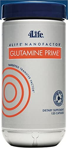 NanoFactor Glutamine Prime by 4Life – 120 Capsules