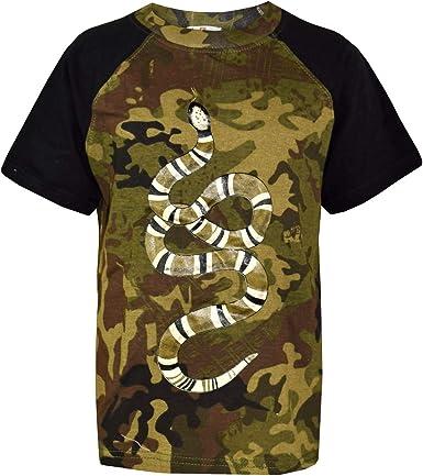 Brand new boys camouflage shirt, 11-12 years