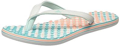 best sneakers a2fa7 02f0f adidas Eezay Dots W, Damen Zehentrenner, Gris  Rosa (Grpulg  Vertra