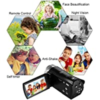 Camera Digital Camera with WiFi 24.0 MP Vlogging Camera 2.7K Ultra HD 3.0 Inch Camera with Flip Screen Retractable Flashlight